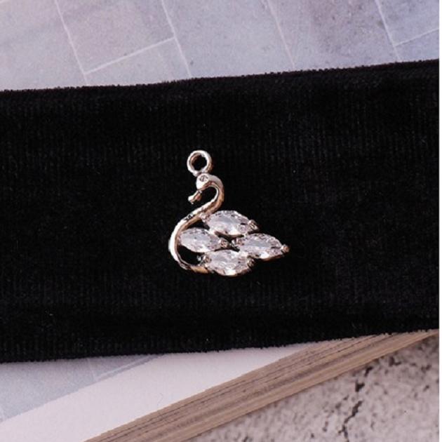 無限大專利磁扣皮革手鍊 X 韓系經典天鵝湖設計鋯石款 1